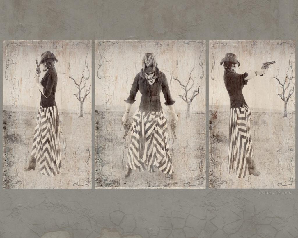 10 cent triptych