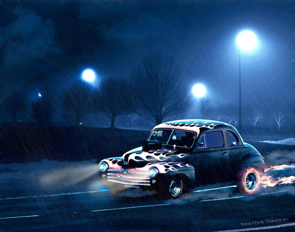 night race online
